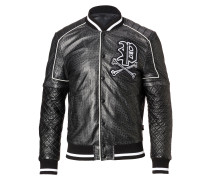 "Leather Bomber ""Receive"""