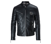 "Leather Moto Jacket ""The one"""