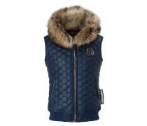 "Leather Vest Short ""Basic"""