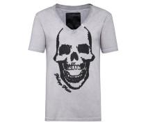 """T-shirt V-Neck SS """"Skull"""""""