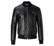 """Leather Bomber """"Classic bomber"""""""
