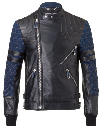 """Leather Jacket """"Niwa"""""""