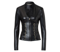 "Leather Jacket ""Kyanite"""