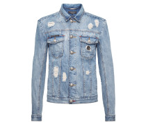 "Denim Jacket ""What's Up"""