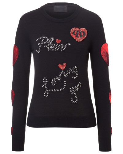 "Pullover Round Neck LS ""Loving You"""