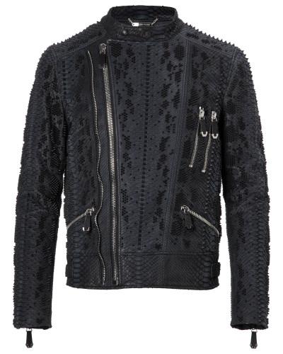 """Leather Moto Jacket """"Way"""""""