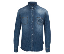 "Denim Shirt Ls ""Request"""