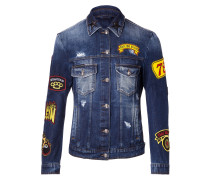 "Denim Jacket ""Money"""