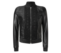 """leather jacket """"cold night"""""""