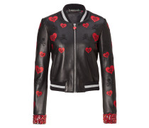 """Leather Bomber """"Frios"""""""