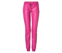 "Leather Trousers Long ""Costain"""