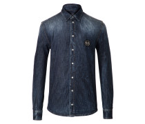"Denim Shirt Ls ""Eisuche"""