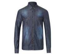 "Denim Shirt Ls ""Sadness"""
