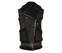 "Leather Vest Short ""Older Stuff"""