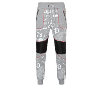 """Jogging Trousers """"Red particular"""""""
