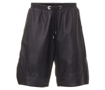"""Leather Shorts """"Gold stars"""""""