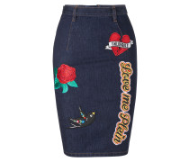 "Denim Skirt ""AguaDulce"""