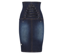 "Denim Skirt ""Aquilegia"""