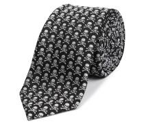 """Thick Tie """"mini skull"""""""