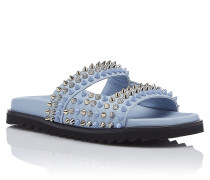 "Sandals Flat ""Round and round"""