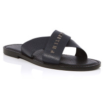 """Sandals Flat """"Happy with you"""""""