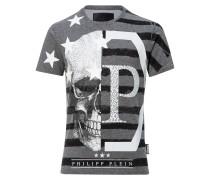 "T-shirt Round Neck SS ""Mimic strass"""