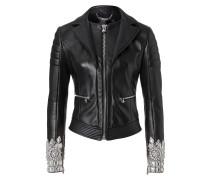 """leather jacket """"together"""""""
