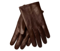 Lederhandschuhe in Braun