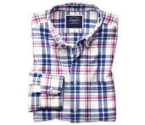Slim Fit Oxfordhemd mit Button-down Kragen