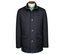 Steppjacke in Marineblau
