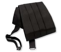 Kummerbund aus Seide in Schwarz