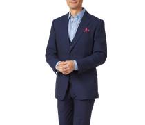 Slim Fit Businessanzug-Sakko aus Panama-Gewebe