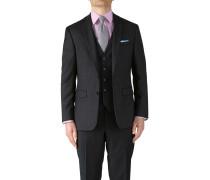 Classic Fit Business Anzug Sakko aus Twill