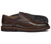 Extraleichte Derby-Schuhe in Braun