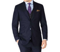 Slim Fit Serge Luxus Anzugsakko in MarineBlau