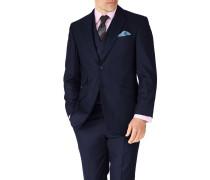 Classic Fit Serge Luxus Anzug Sakko in MarineBlau