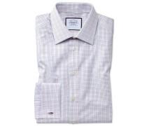 Slim Fit Hemd aus ägyptischer Baumwolle