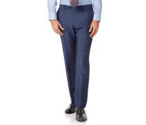 Italienische Slim Fit Luxusanzughose in Blau