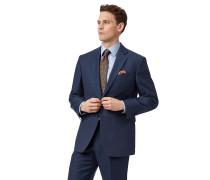 Classic Fit Business-Sakko aus Twill in Blau