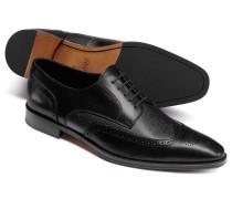 Budapester Derby-Schuhe in Schwarz