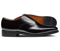 Rahmengenähte Oxford-Schuhe mit Ledersohle