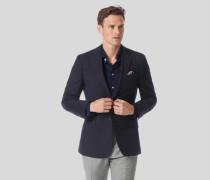 Schlichter Woll-Blazer - Marineblau