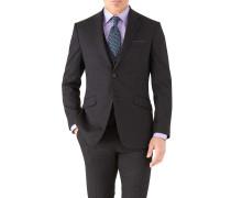 Slim Fit Business Anzug Sakko aus Hairline