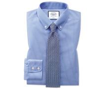 Bügelfreies Classic Fit Button-down-Hemd