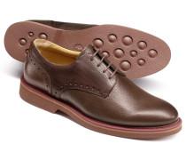 Extra leichte Derby-Schuhe in Braun
