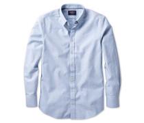 Classic Fit modernes Oxfordhemd in Himmelblau
