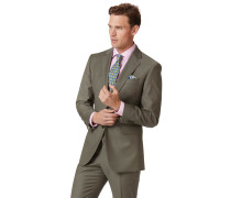 Businessanzugsakko Slim Fit Twill in Olive