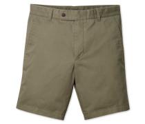 Chino-Shorts in Khaki