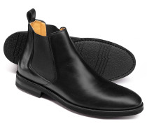 Extra leichte Chelsea Stiefel in Schwarz
