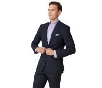 Slim Fit Businessanzugsakko aus Merino